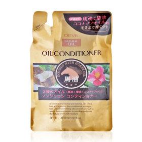 Kumano Horse Oil Conditioner 400ml (Refill)