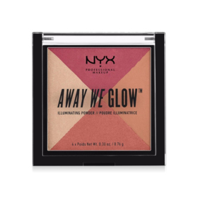 NYX Professional Makeup Away We Glow Illuminating Powder #Sunset BLVD