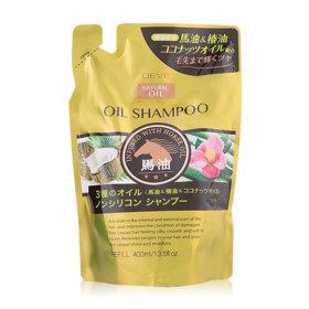 Kumano Horse Oil Shampoo 400ml (Refill)