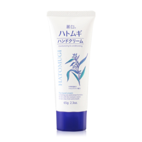 Kumano Hatomugi Moisturizing & Conditioning Hand Cream 65g
