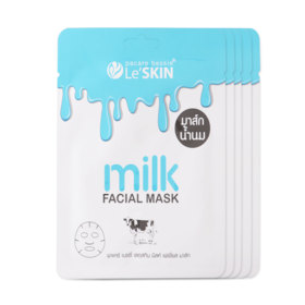 LeSkin Milk Facial Mask (25ml x 5pcs)