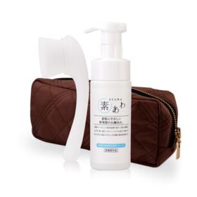 Suawa Special Bag Set (Brush Facial + Foam 150ml)