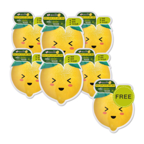 Smooto Japan Lemon - C Acne White Magic Serum (10ml x 6pcs) (Free! Smooto Japan Lemon - C Acne White Magic Serum 10ml)