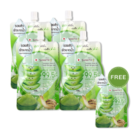 Smooto Japan Aloe-E Snail Bright Gel (50ml x 4pcs) (Free! Smooto Japan Aloe-E Snail Bright Gel 50ml)