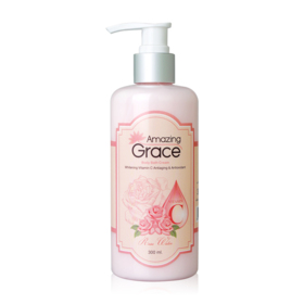 Amazing Grace Body Bath Cream Whitening Vitamin C Antiaging & Antioxidant  300ml
