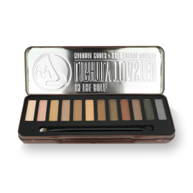 W7 In The Buff Lightly Toasted Natural Nudes Eye Colour Palette