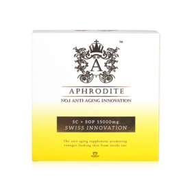 Aphrodite OSY SC + SOP 15,000mg No.1 Anti Aging (15g x 7 packs)