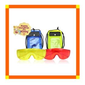 Waterproof Bag Small Size 2pcs & Water Goggles 2pcs *ทางบริษัทขอสงวนสิทธิ์ในการเลือกสี