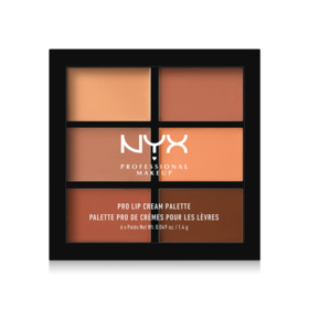 NYX Professional Makeup Pro Lip Cream Palette #PLCP02 The Nudes