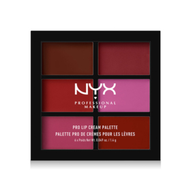 NYX Professional Makeup Pro Lip Cream Palette #PLCP04 The Plums