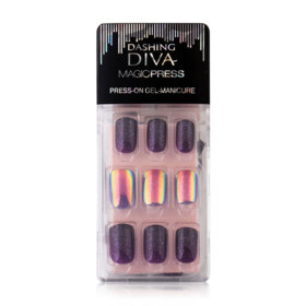 Dashing Diva Magic Press #MDR065 Purple Iiiumination