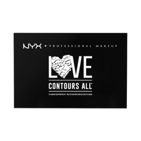 NYX Professional Makeup Love Contours All Palette #LCA01