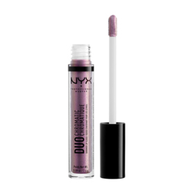 NYX Professional Makeup Duo Chromatic Lip Gloss #DCLG06 Gypsy Creams