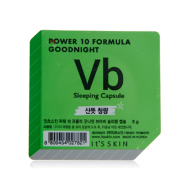 Its Skin Power 10 Formula Goodnight Vb Sleeping Capsule 5g