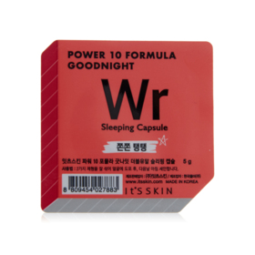 Its Skin Power 10 Formula Goodinght Wr Sleeping Capsule 5g