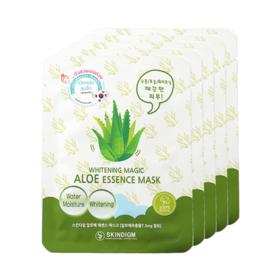 Skindigm Whitening Magic Aloe Essence Mask (26ml x 5pcs)