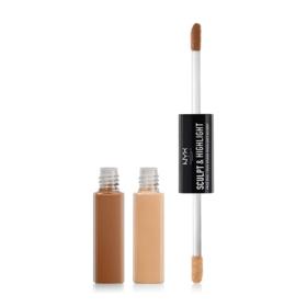 NYX Professional Makeup Sculpt & Highlight Face Duo #SHFD02 Almond/Light