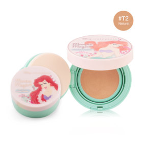 Cute Press Marine Magic Magic Foundation Compact SPF37/PA++  #T2 Natural (Free! Marine Magic Oil Control Loose Powder)