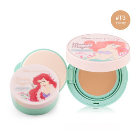 Cute Press Marine Magic Magic Foundation Compact SPF37/PA++  #T3 Honey (Free! Marine Magic Oil Control Loose Powder)