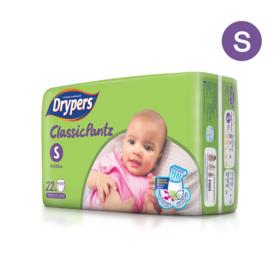 Drypers Classicpantz 22pcs #S