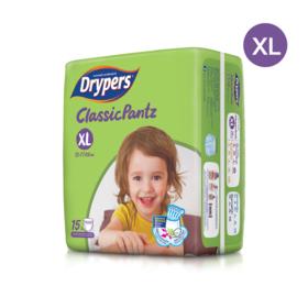 Drypers Classicpantz 15pcs #XL