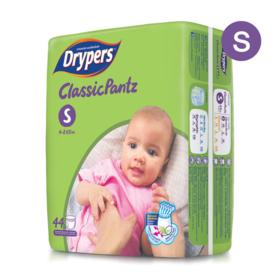 Drypers Classicpantz 44pcs #S