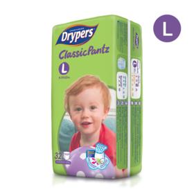 Drypers Classicpantz 32pcs #L