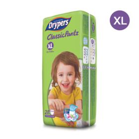 Drypers Classicpantz 28pcs #XL