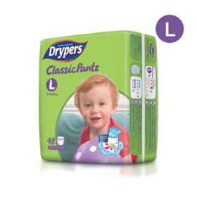 Drypers Classicpantz 48pcs #L