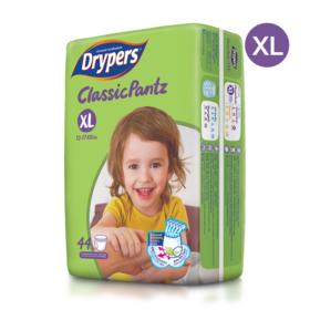 Drypers Classicpantz 44pcs #XL