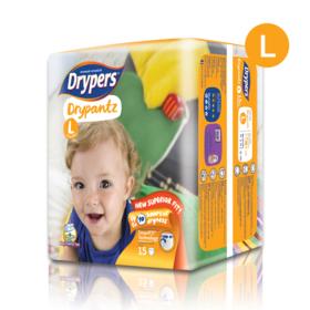 Drypers Drypantz 15pcs #L