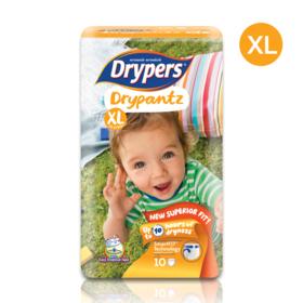 Drypers Drypantz 10pcs #XL