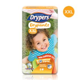 Drypers Drypantz 8pcs #XXL
