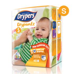 Drypers Drypantz 48pcs #S