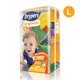 Drypers Drypantz 36pcs #L