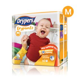 Drypers Drypantz 60pcs #M