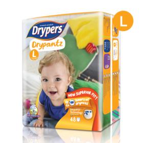 Drypers Drypantz 48pcs #L