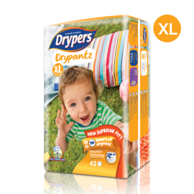 Drypers Drypantz 42pcs #XL