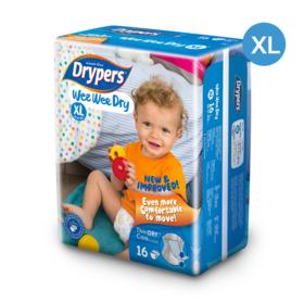 Drypers WWD 16pcs #XL