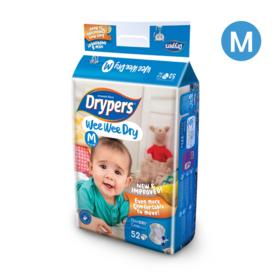 Drypers WWD 52pcs #M
