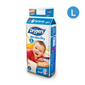 Drypers WWD 44pcs #L