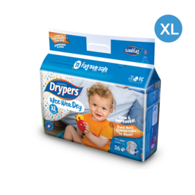 Drypers WWD 36pcs #XL
