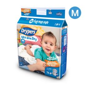 Drypers WWD 74pcs #M