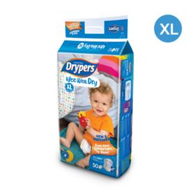 Drypers WWD 50pcs #XL