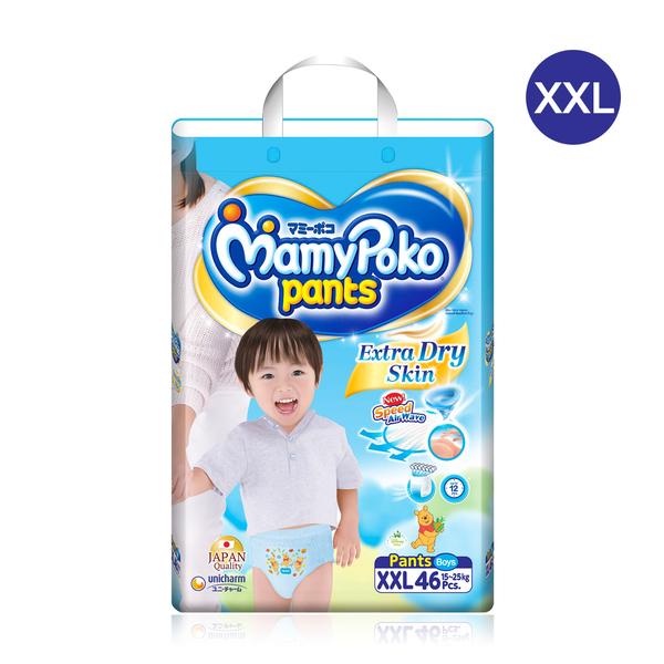 Mamy+Poko+Pants+Extra+Dry+Skin+46pcs+%23XXL+%28Boy%29