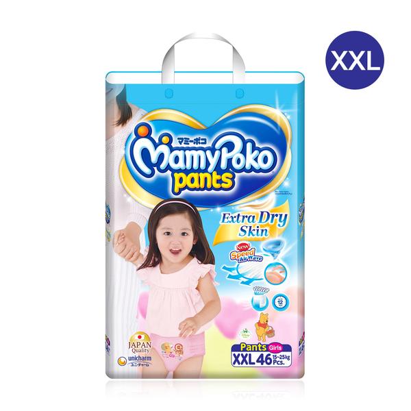 Mamy+Poko+Pants+Extra+Dry+Skin+46pcs+%23XXL+%28Girl%29