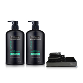 Tresemme Shampoo Split Recovery Green (480ml x 2pcs) (Free! Cosmetic Tray)
