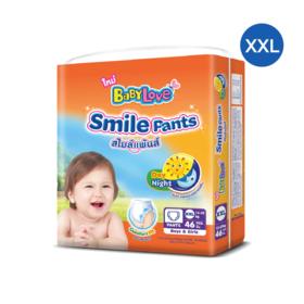 Babylove Smile Pants 46pcs #XXL