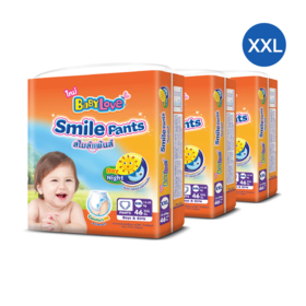 Babylove Smile Pants 46pcs x 3packs (138pcs in box) #XXL