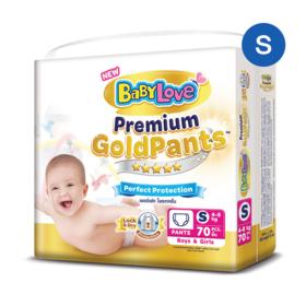 BabyLove Premium Gold Pants Perfection Protection 70pcs #S